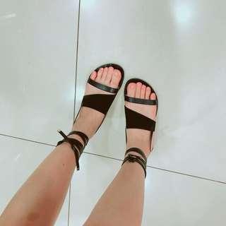 🚚 綁帶平底涼鞋