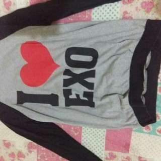 I love Exo sweatshirt