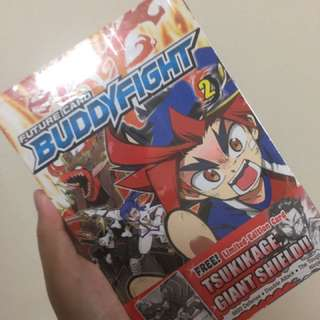 Buddy fight 1&2 - Super rare to find it in Singapore