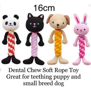 Brand New Dental Rope Chew for puppy and small breed dog by Bonbi Archon