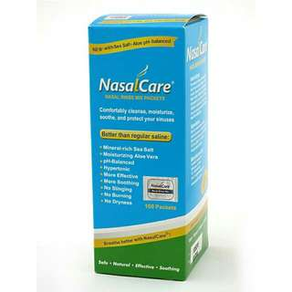 現貨~NasalCare Nasal Rinse Mix Packets NasalCare 洗鼻劑,可供購買,如欲訂購或查詢可先留言。每盒有一百包海鹽蘆薈檸檬酸洗鼻劑,每盒售價為250元,亦可散裝購買,散裝售價為30元十包,糖尿病之家會將一半收益作慈善用途。  Whatsapp 64672852 or DM us