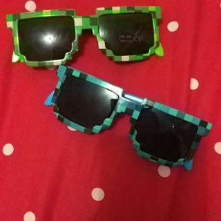 Kacamata anak pixel