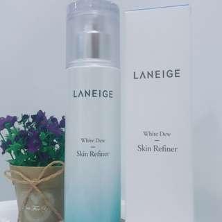 Laneige 水光亮白細膚水 White Dew Skin Refiner 120ml