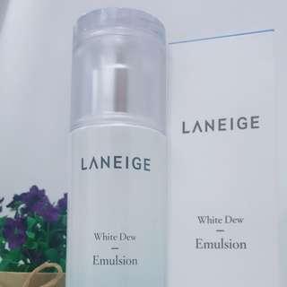 Laneige 水光亮白補濕液 White Dew Emulsion 100ml