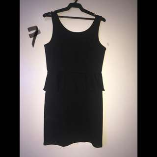 American Eagle Outfitters Peplum Dress Size 6