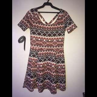 H&M Skater Dress Size 8