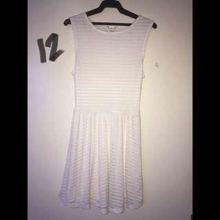 Forever 21 Overrun Skater Dress Size 6