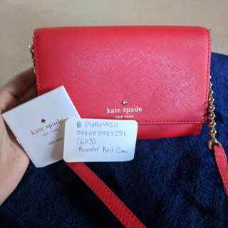 New Authentic Kate Spade Cami Crossbody