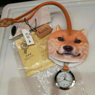購自日本柴犬鉈錶原價168