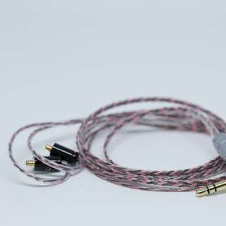 OFC MMCX IEM Replacement Cable Black Red