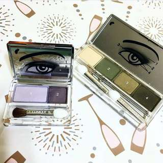Clinique all about shadow 四色眼影 eye shadow