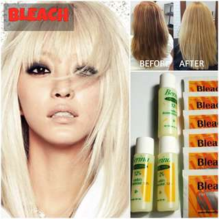 HAIR BLEACH DYE / COLOR (NON DAMAGE)