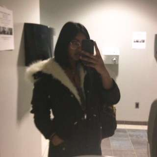 Light Fur Jacket
