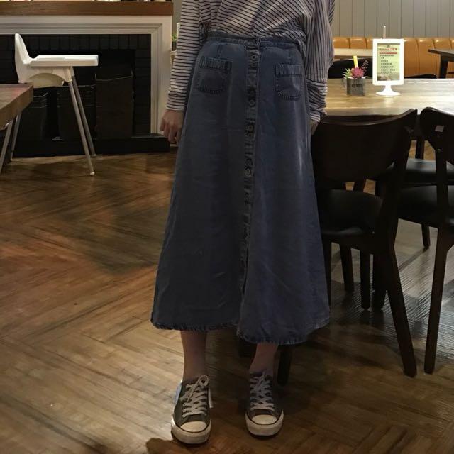 古著牛仔裙