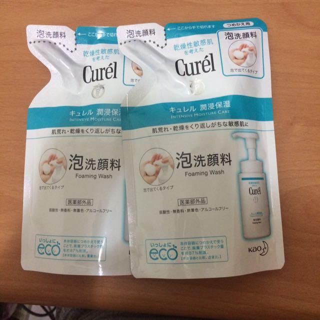 珂潤 泡洗顏料 補充包 日本帶回