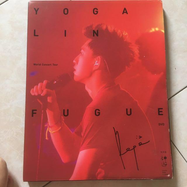 林宥嘉 神遊世界巡迴演唱會 台北旗艦場DVD 含簽名