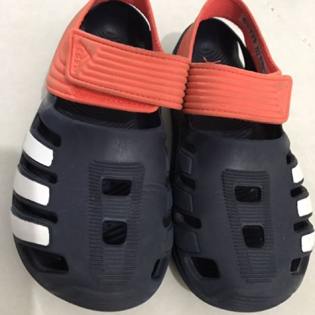 Addidas water proof cover up sandle