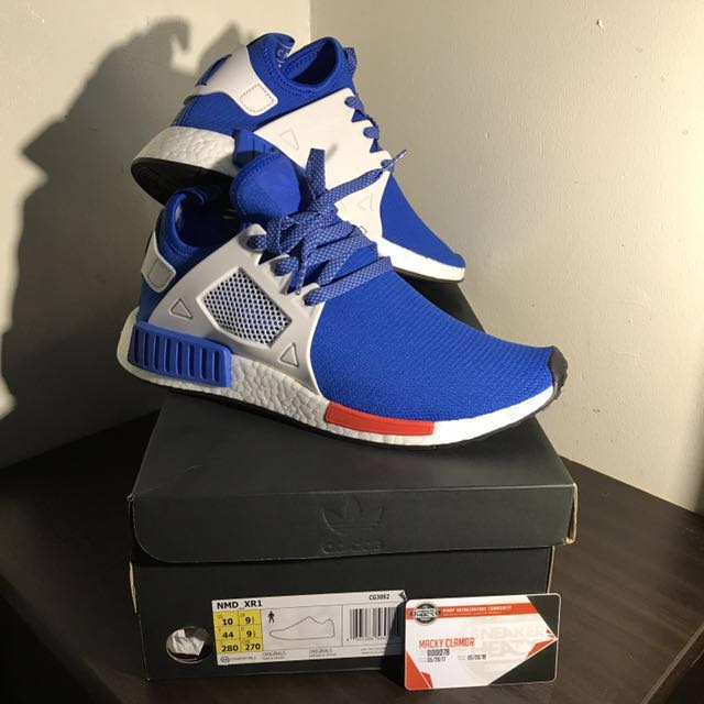 c685ad2b79e7d Adidas NMD XR1 Footlocker EU Exclusive Bluebird
