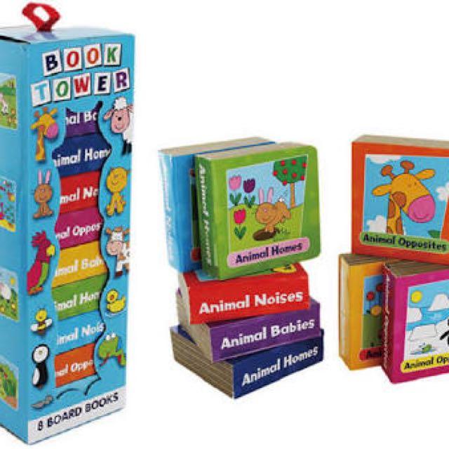 Alligator - Book Tower (8 Board Books)