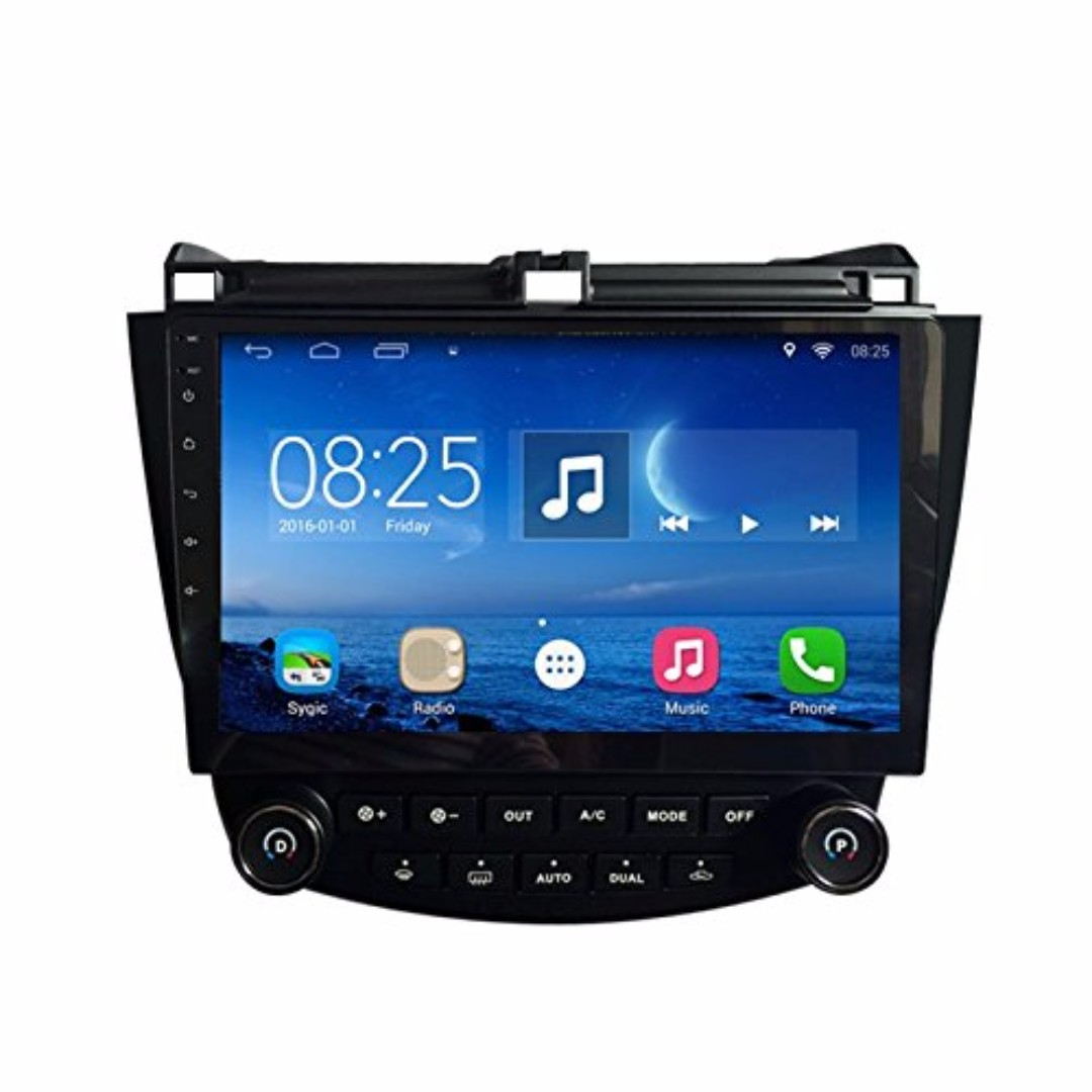 "Android 10.2"" display, multimedia player for HONDA ACCORD 2003-2007"