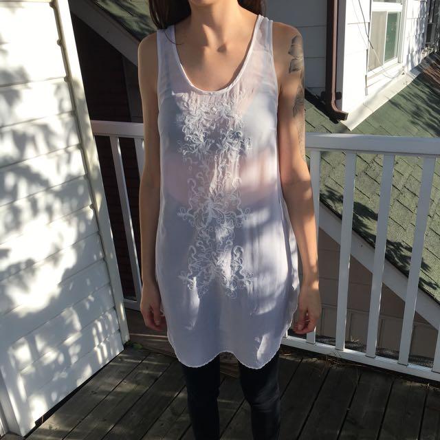 Aritzia Wilfred Silk Dress
