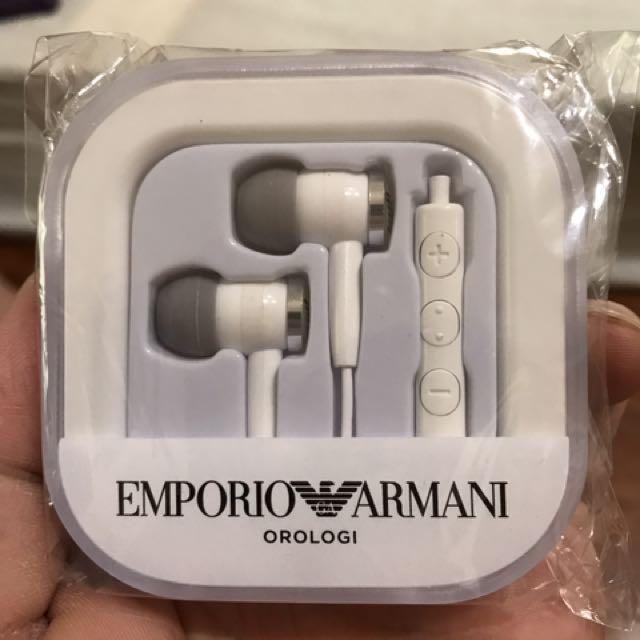 正品Armani原廠授權耳機