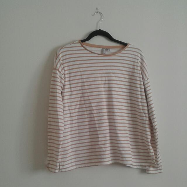 Asos Striped Sweatshirt