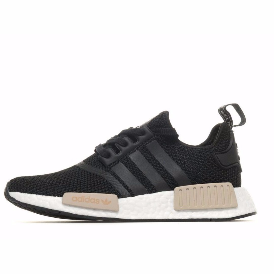 95ec41140 Authentic Adidas Womens Originals NMD R1 Core Black   Brown