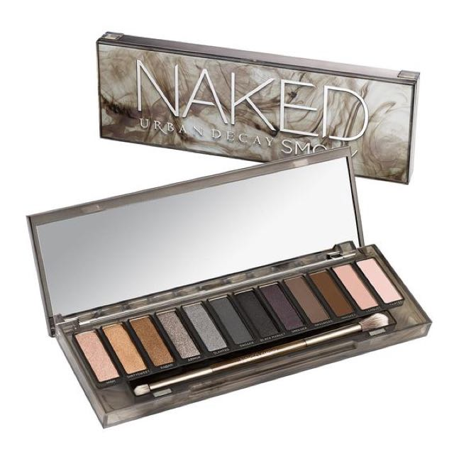 Authentic Naked Smokey Paletter