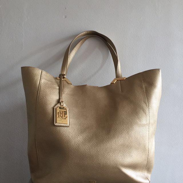 Authentic Ralph Lauren Shopping Tote Bag (xl)