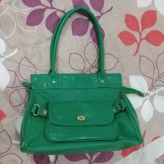 Avon 2-Way Bag - Emerald Green