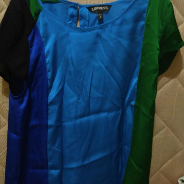 Baju atasan biru