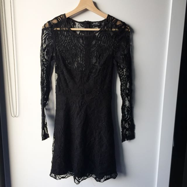 Bardot lace dress (6)