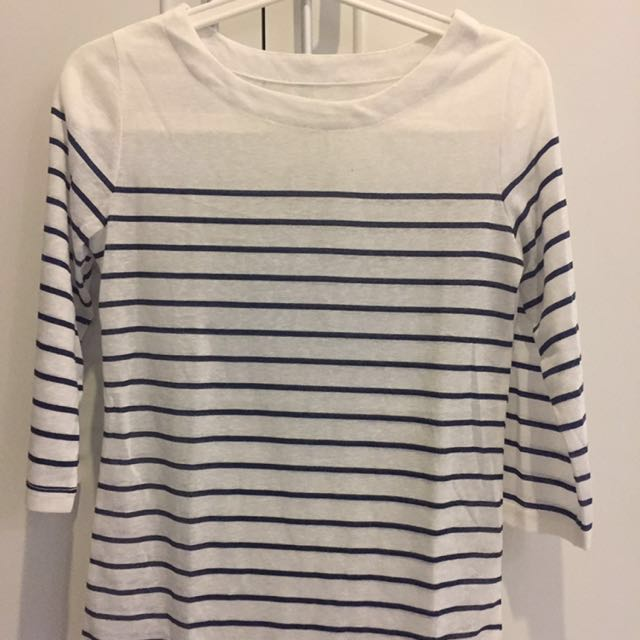 Basic atmosphere stripe shirt