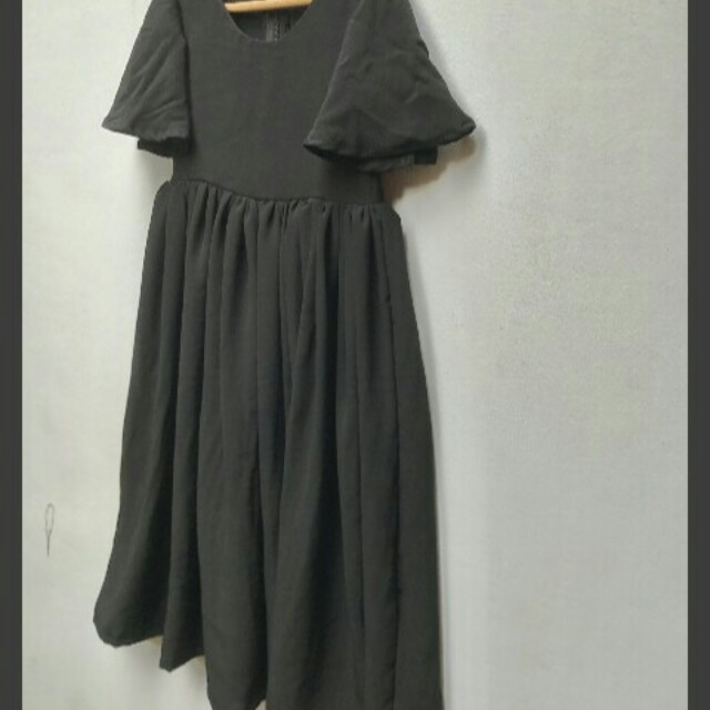 Bell Sleeves Maxi dress