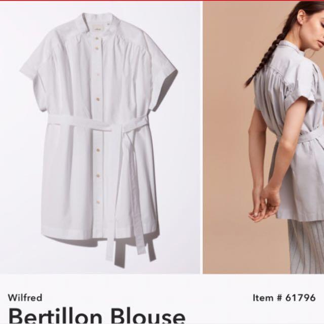 Bertillon blouse