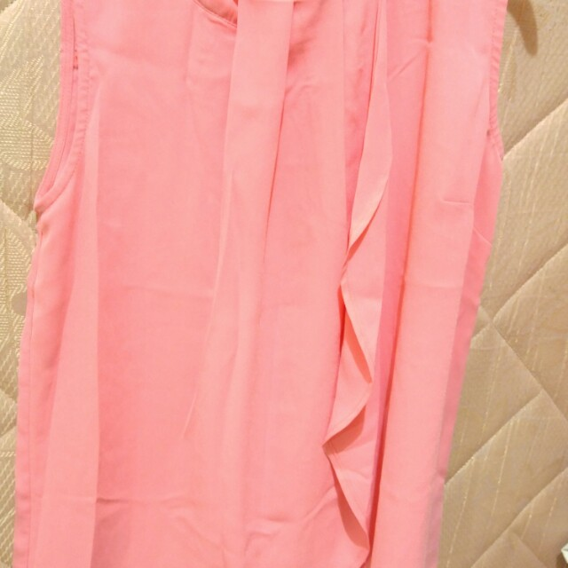 Blouse branded pink