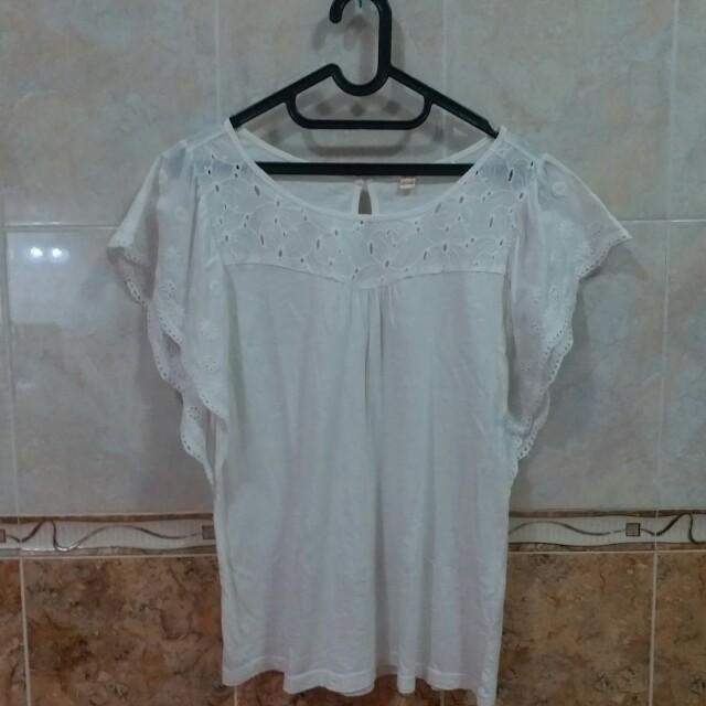Blouse putih Esprit