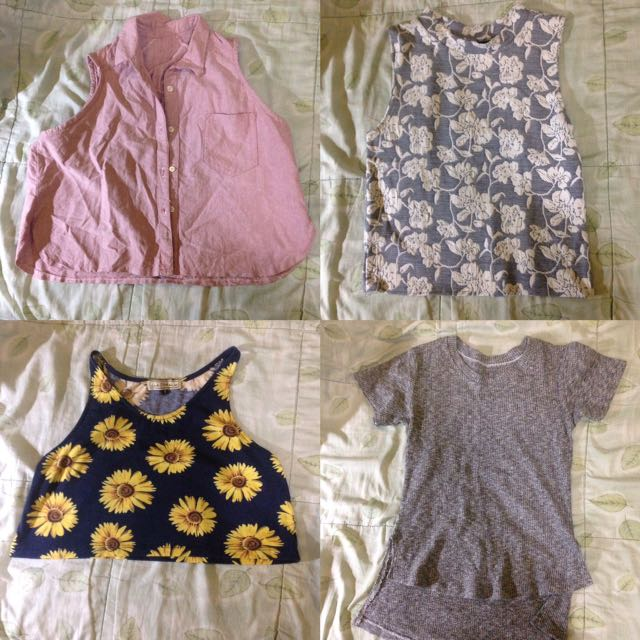 BN & PRELOVED TOPS
