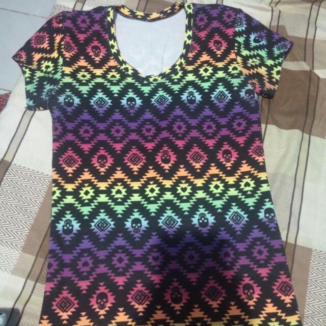 Bodycon shirt for women