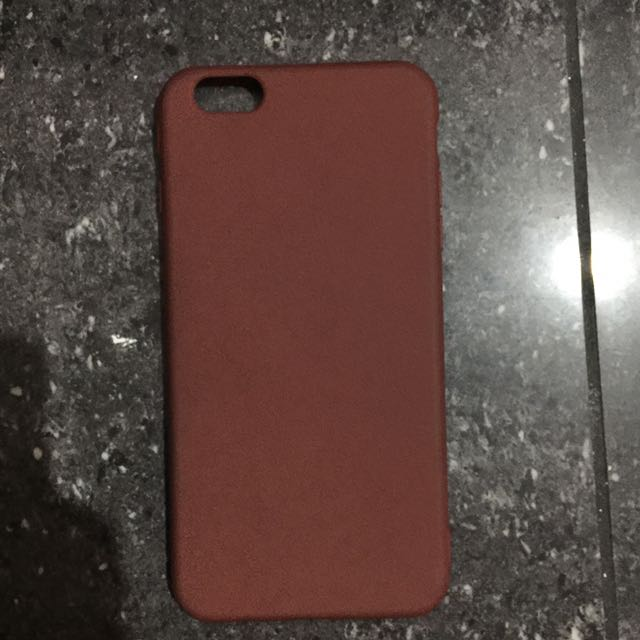 brown iphone 6 plus case