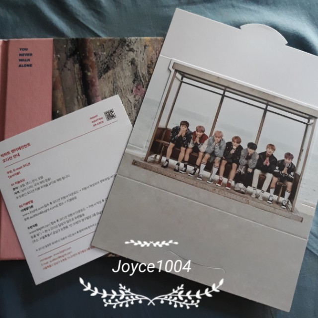 BTS YNWA UNSEALED ALBUM (REPRICED)