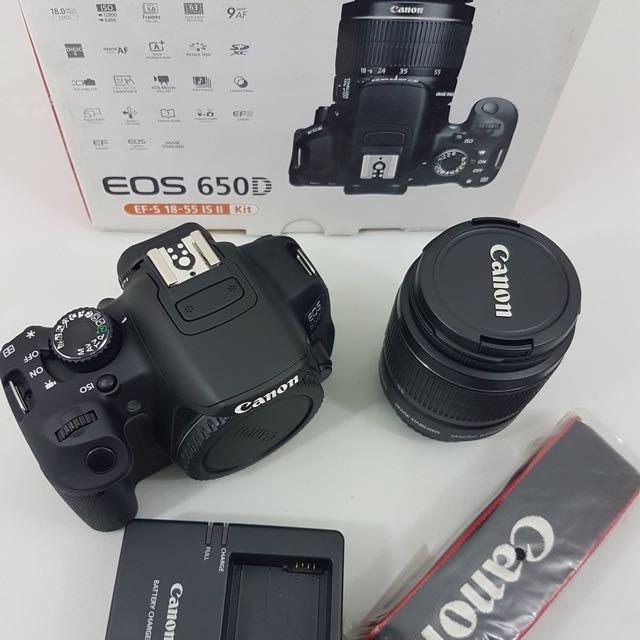 Canon EOS 650D kit CMP Unit Brand New All Original 3years Warranty