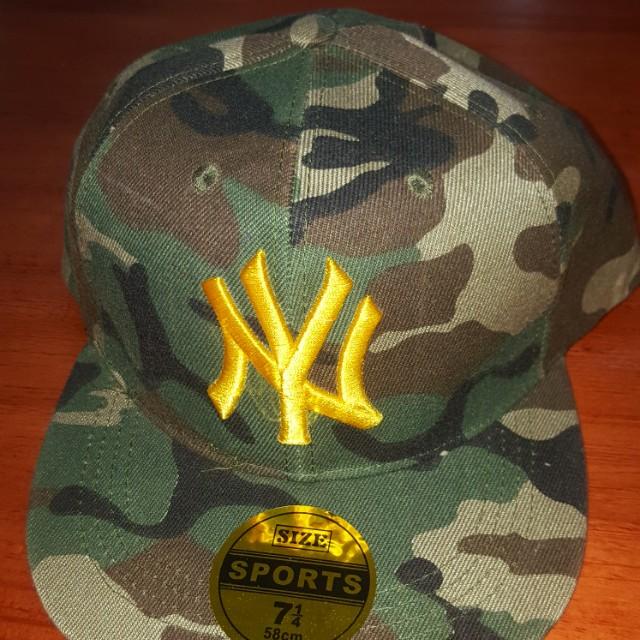 cap NY baseball topi fashion muda army colour 52360cff7c