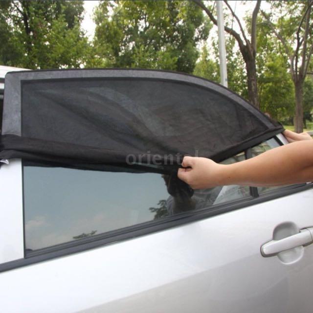 Car window sun shades UV protection