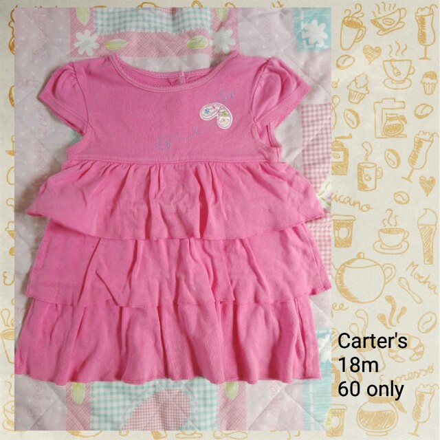 Carter's baby dress 18m