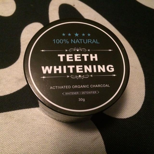 Charcoal Teeth Whitener (100% natural)