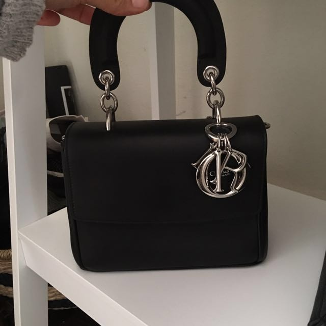 Christian Dior black side bag (with strap)