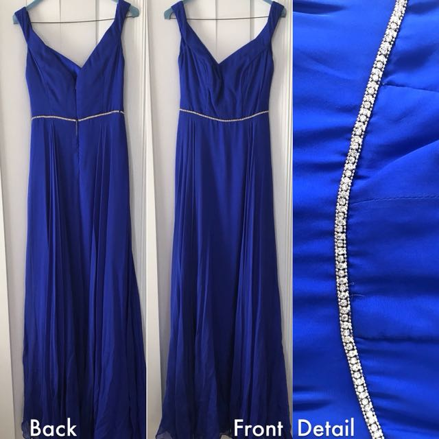 Custom Formal Dress with Shoes