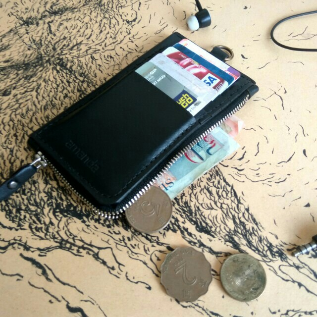 Customize Simple Wallet/Holder +Name Emboss